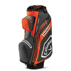 Callaway Chev Dry 14 Cart Bag Charcoal/Orange