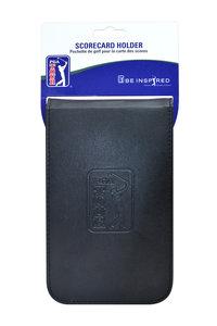PGA Tour Leather Scorecard Holder