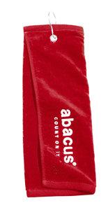 Abacus Bag Towel Logo