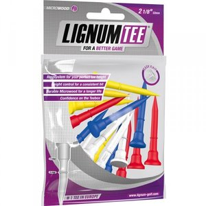 Lignum Tees 53 Mm Bag 16 Pcs