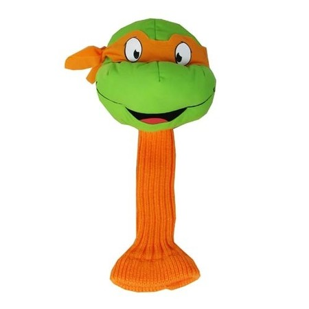 Head Cover Ninja Turtle Orange