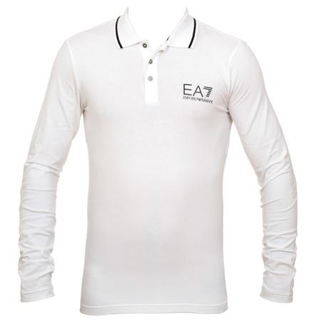 Armani EA7 Man's Knit Polo