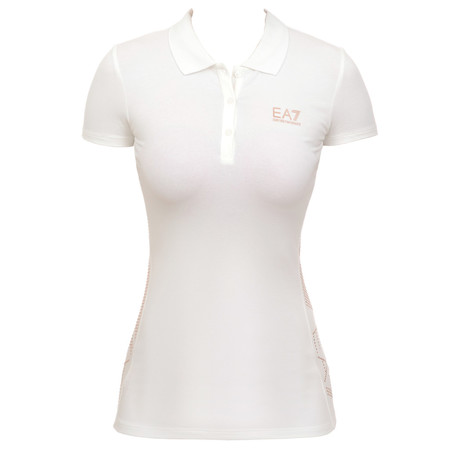 Armani EA7 Woman's Knit Polo SS
