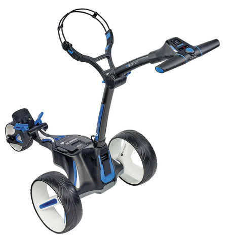 Motocaddy M5 Connect Electric Trolley + 18 Holes Battery