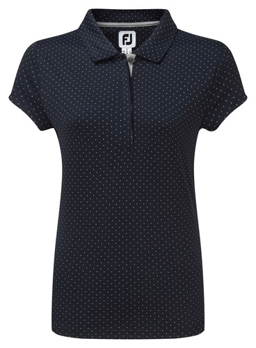 Footjoy Smooth Pique With Pin Dot