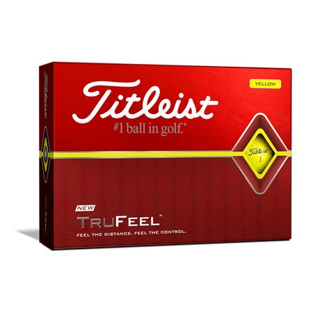 Titleist TruFeel Yellow Balls