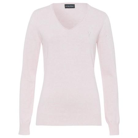 Golfino Soft cotton melange V-neck