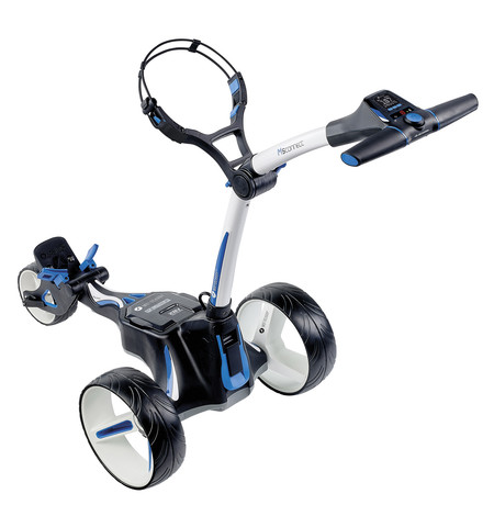 Motocaddy M5 Connect Electric Trolley + 36 Holes Battery