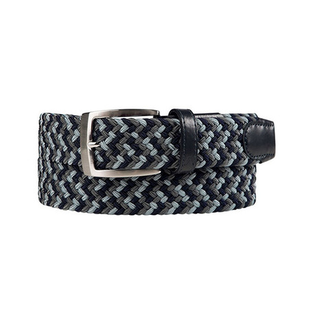 Alberto Multicolor Braided Belt