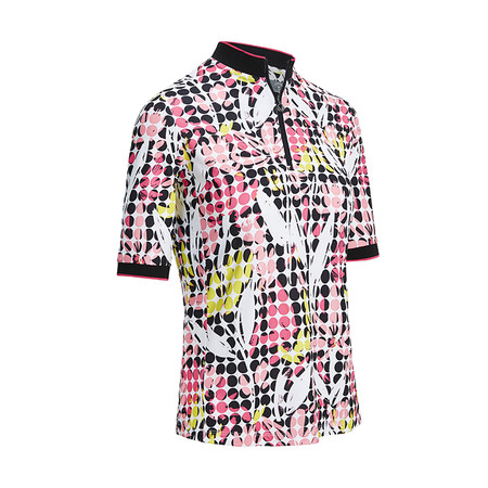 Callaway Abstract Printed Floral Top