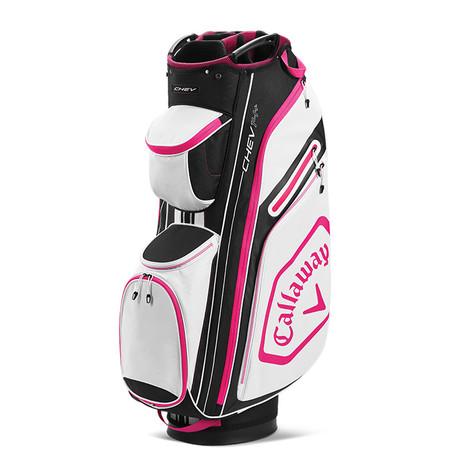 Callaway Chev 14+ Cart Bag Black/Pink