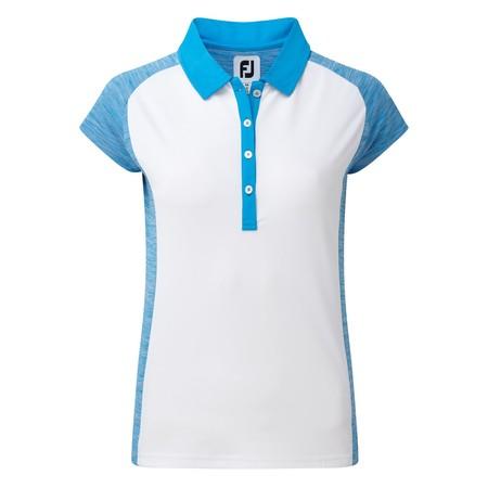 Footjoy Women's Smooth Pique Raglan Cap Sleeve Shirt