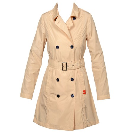 Armani EA7 Woman's Woven Trench