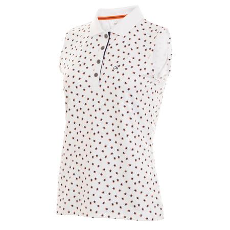 Calvin Klein Americana Sleeveless Polo