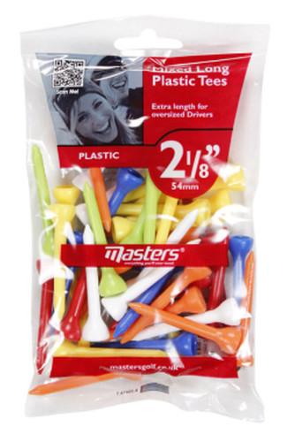 """Plastic Tees Bag 40 2 1/8"""" Mixed"""