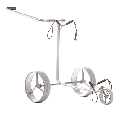 JuStar Manual Golf Trolley Silver