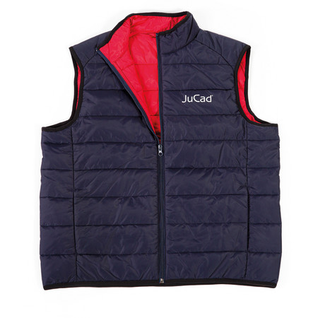 JuCad Quiled Vest Blue