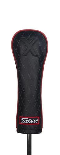 Titleist Jet Black Leather Fairway Cover