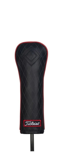 Titleist Jet Black Leather Hybrid Cover
