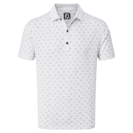 FootJoy Smooth Pique Weather Print