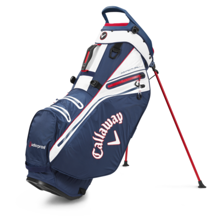 Callaway Hyper Dry 14 Stand Bag Navy/White
