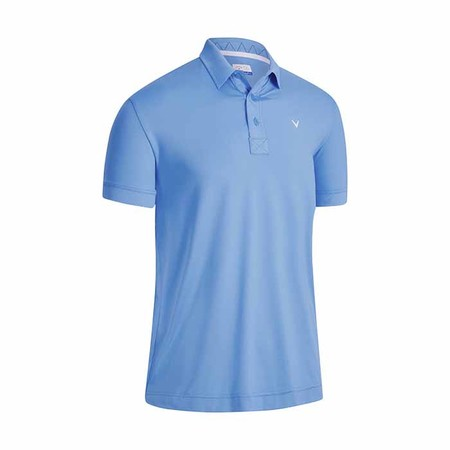 Callaway Solid Ribbed Polo